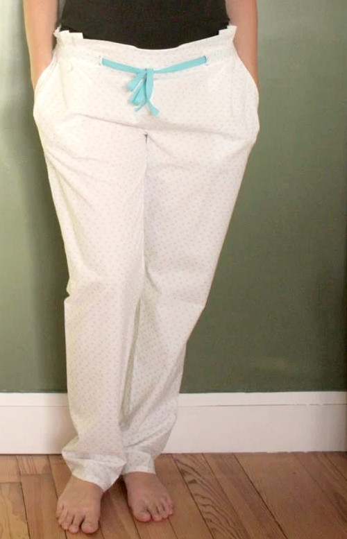 pantalon de pyjama julio wear my lemonade cousu par gros becots