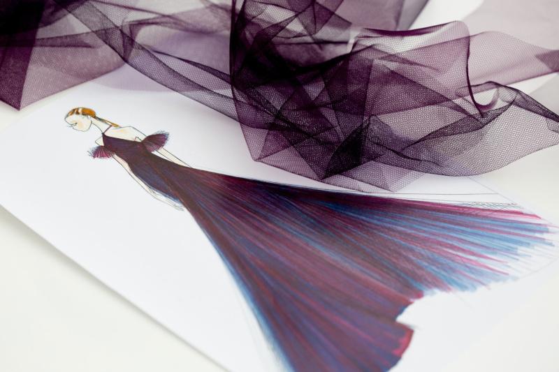 Dior - Robe d'Emilia Clarke