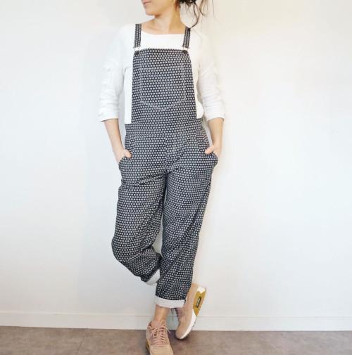 Salopette Mario cousue par @sewing.swing - patron Delphine et Morissette