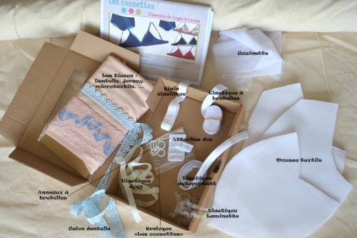 Box lingerie Louisa - Les Cousettes
