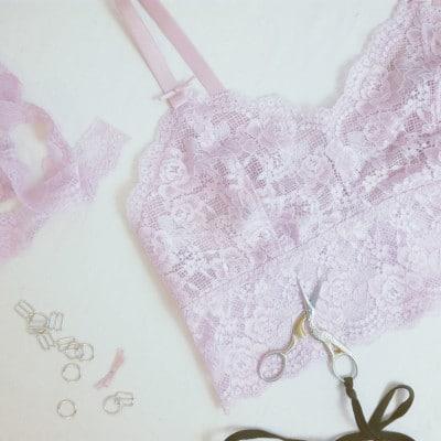 Ensemble de lingerie Karmah - patron couture Eclipse Lingerie