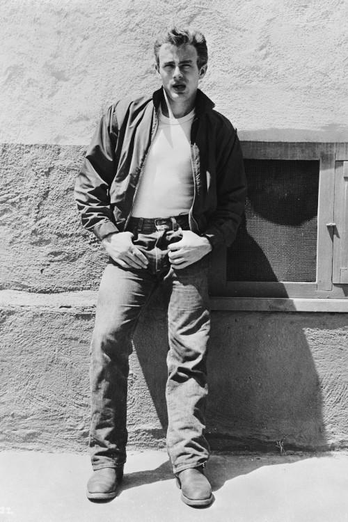 James Dean en jeans dans la Fureur de Vivre