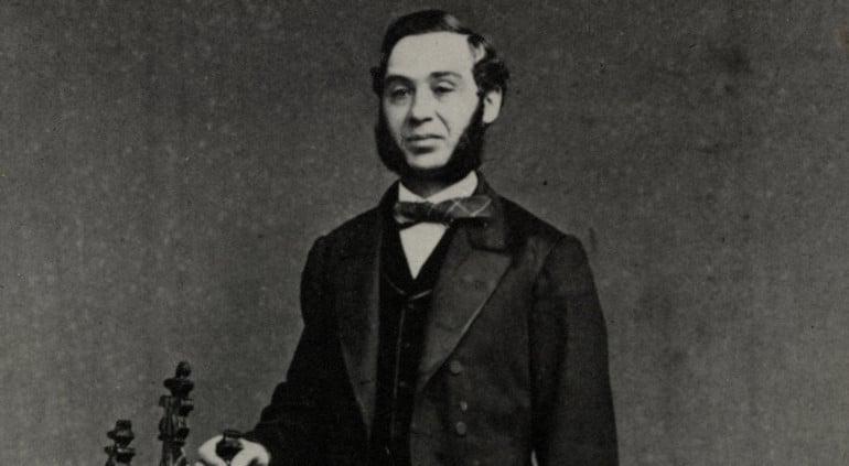 Portrait de Levi Strauss