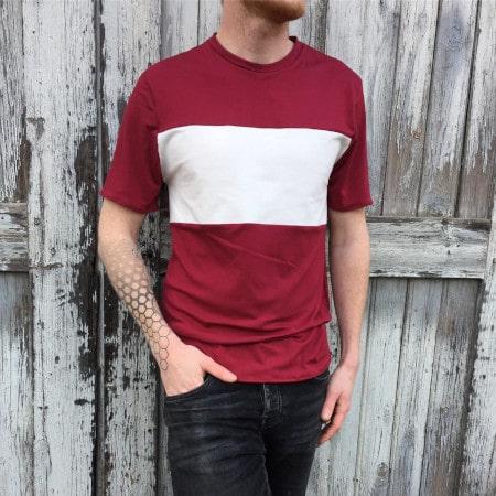 T-shirt Hercule par @sew_factory - patron t-shirt homme gratuit de Urban Fairy