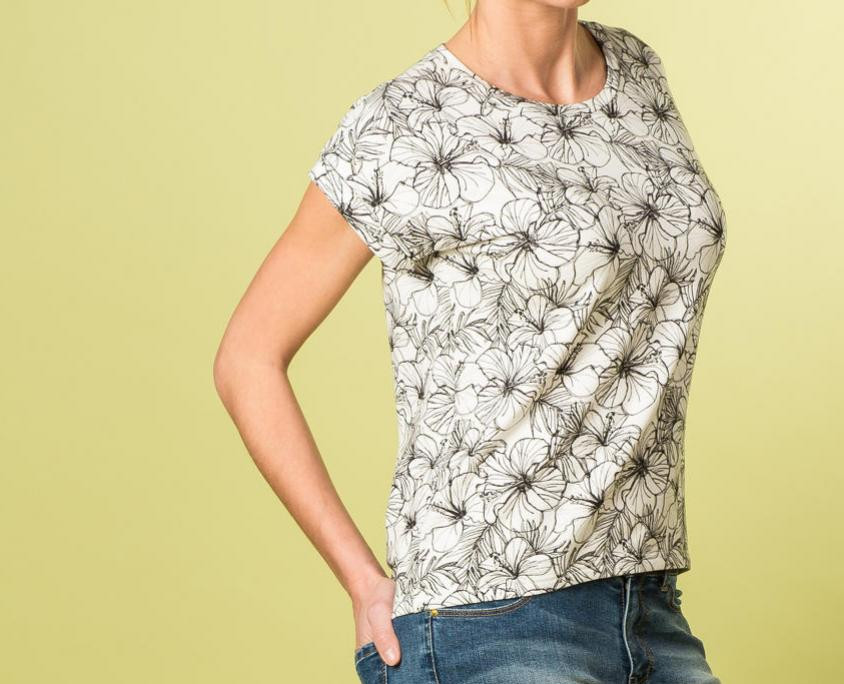 T-shirt Odette - patron gratuit de La Maison Victor