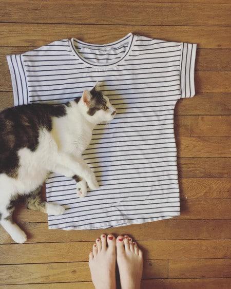 Même les chats aiment Odette... @mariiineandco - - patron gratuit La Maison Victor