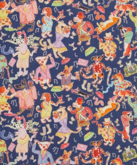 Drapper Dogs - Liberty Fabrics- English Creatives