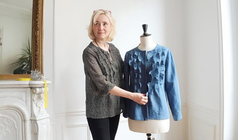 Christine, la créatrice de Dress Your Body - patrons couture - Louise Magazine