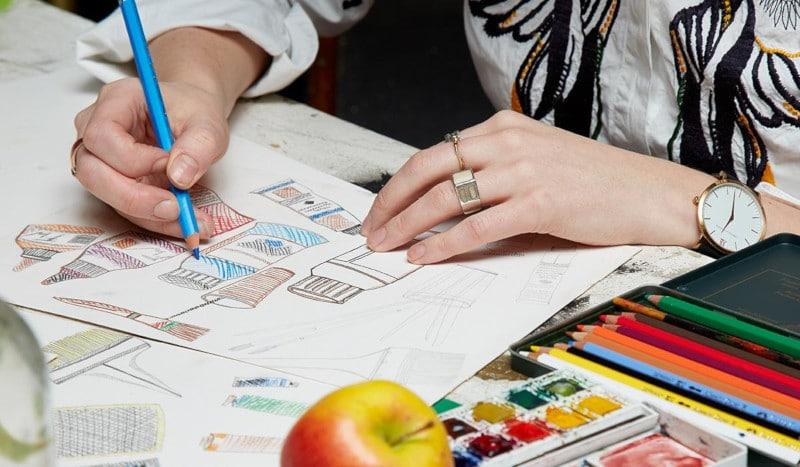 liberty fabrics studio - artist