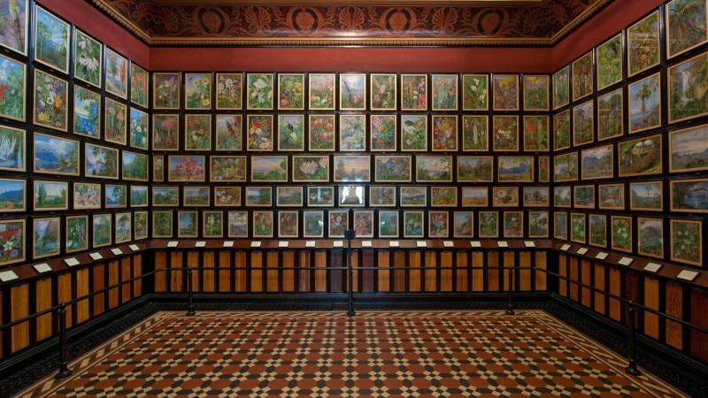 Marianne North Gallery à Kew Gardens
