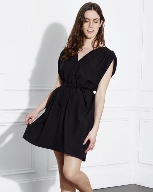 Robe Lolita noire- Louis Antoinette Paris