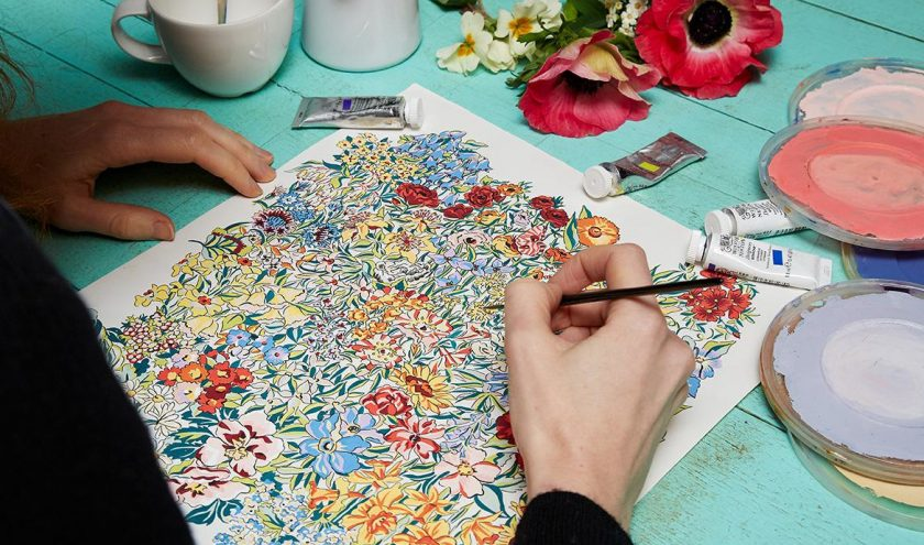 Les secrets de la nouvelle collection English Creatives de Liberty Fabrics - Louise Magazine