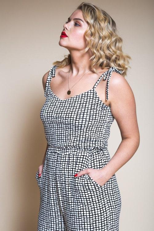 Combinaison jupe culotte Sallie - Closet Case Pattern