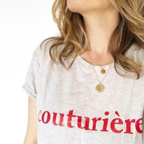 t-shirt couturière - 23 rue des Roses