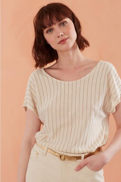 T-shirt Josaya en viscose - Des Petits Hauts