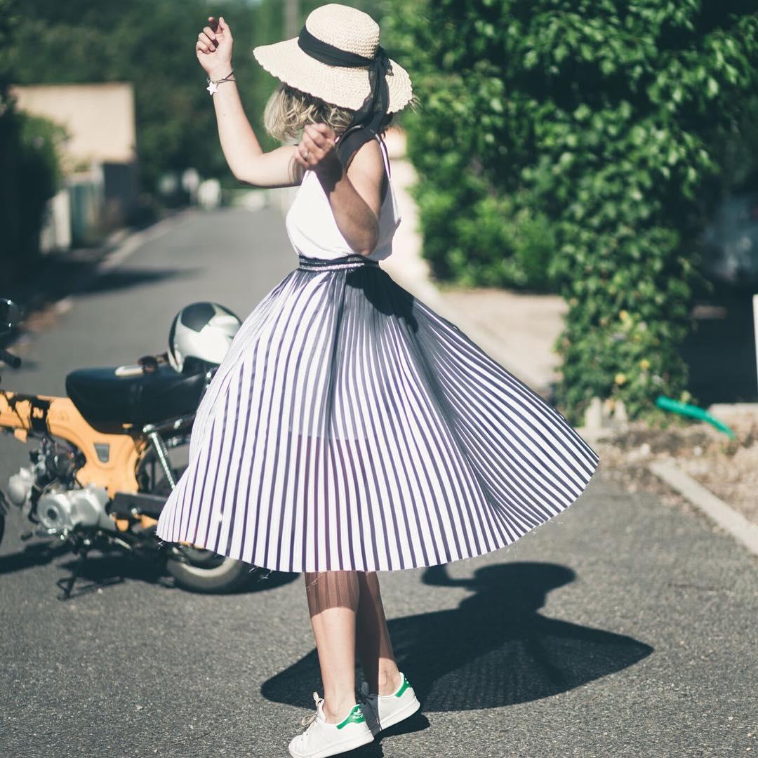 jupe plissée - Ma Petite Mercerie