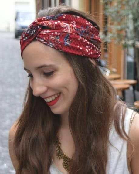 tuto Twisted turban -Filoute