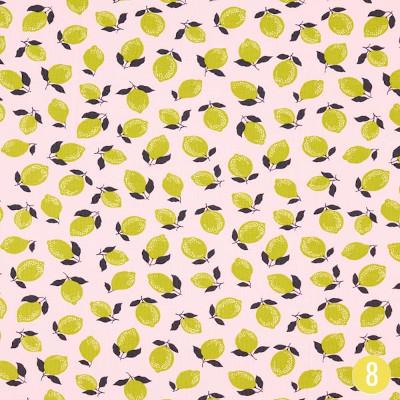 Jersey lemon & lime - Tissus.net