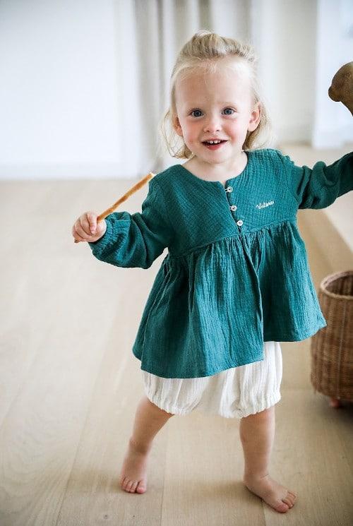 Kit couture blouse en double gaze - Filomène Ateliers