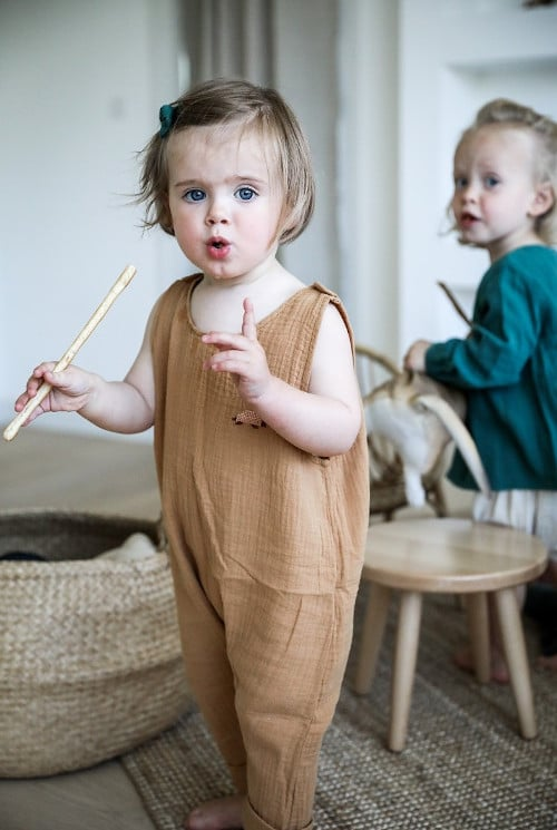 Kit couture salopette bébé - Filomène Ateliers
