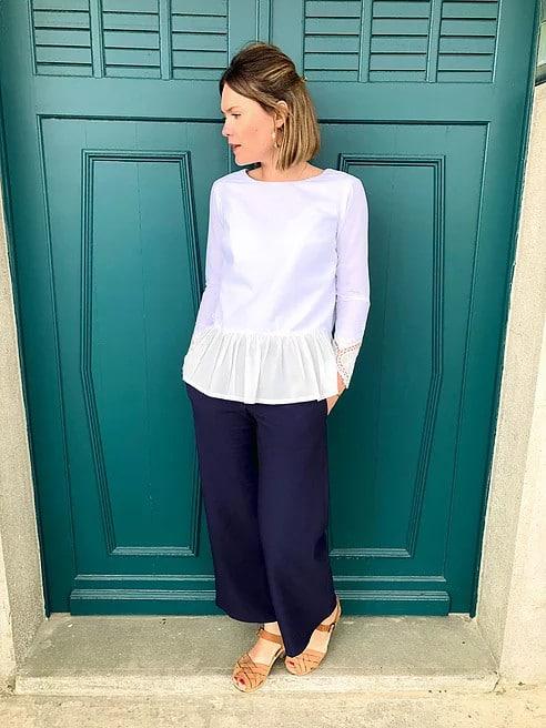 Pantalon Denise et blouse Salomé - Le Laboratoire Familial