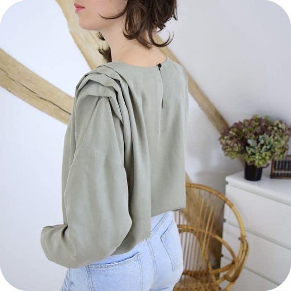 Patron blouse Paulette - Cousette Patterns