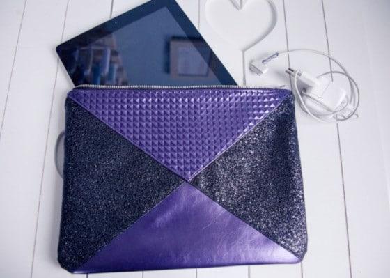 Tuto housse de tablette Loly © Dodynette
