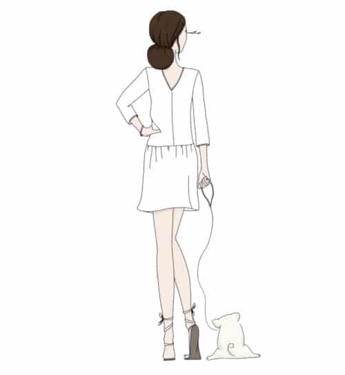 patron robe Muse - Ma Petite Garde Robe