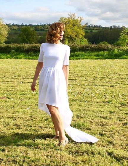 couture robe de mariée : Elisabeth (patron Le Laboratoire Familial)