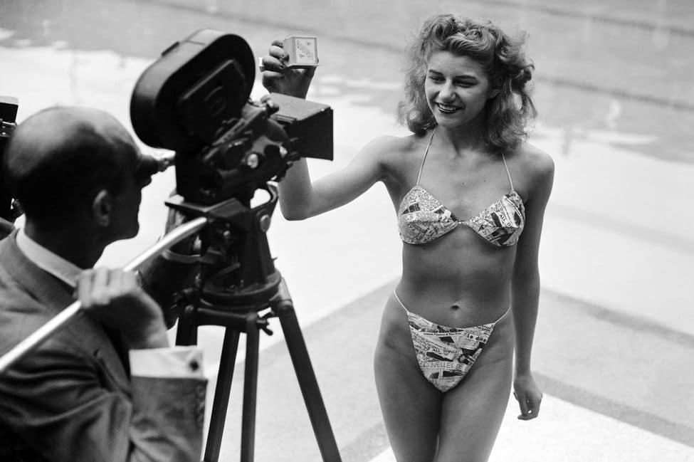 Bikini inventé par Louis Réard