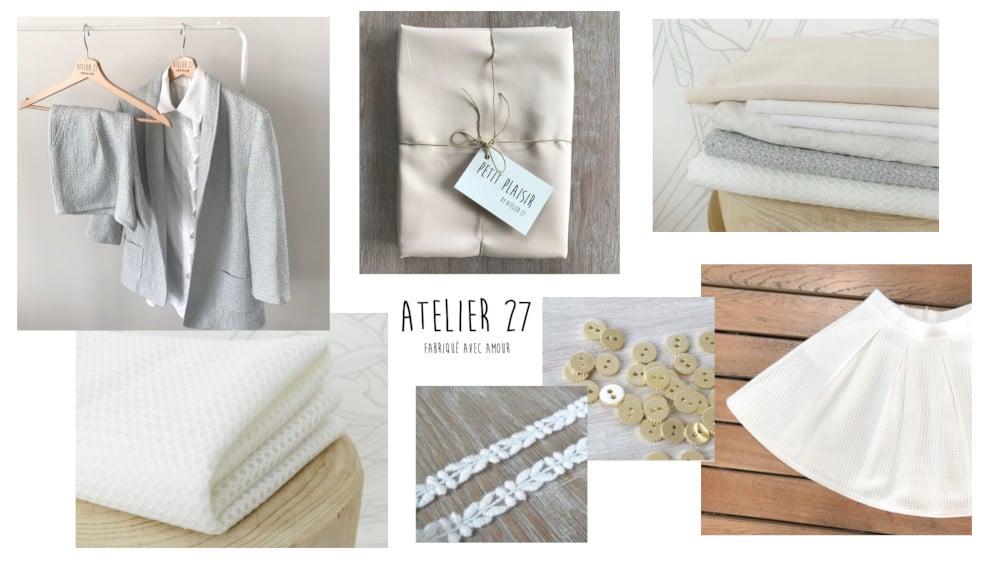 Collection tissus cérémonie - Atelier 27