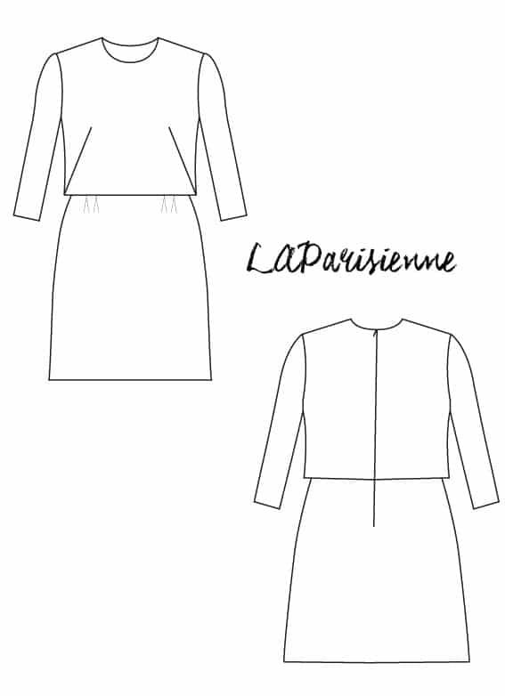 Patron robe LAParisienne - Louis Antoinette
