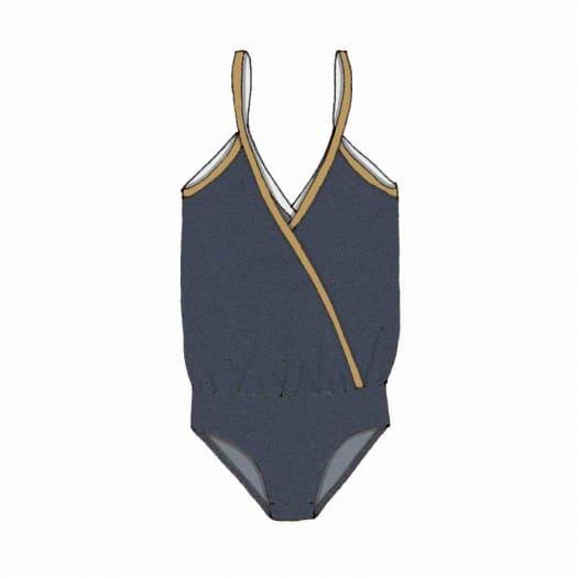 patron maillot de bain 1 pièce cache-cœur - Dauphine de France Duval Stalla