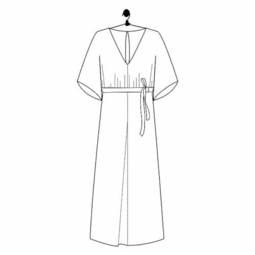 Patron robe kimono Olivia - Le Laboratoire Familial