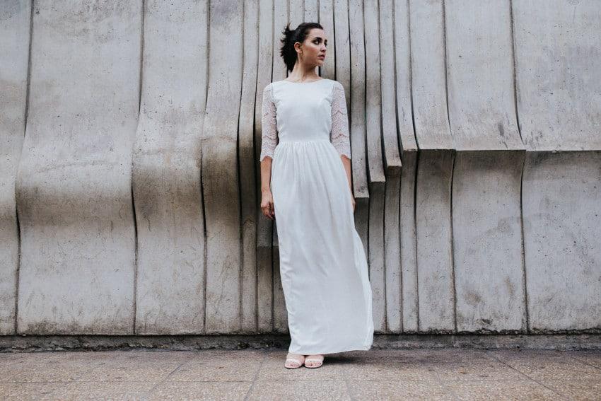 Patron robe de mariée personnalisable - Charlotte Auzou