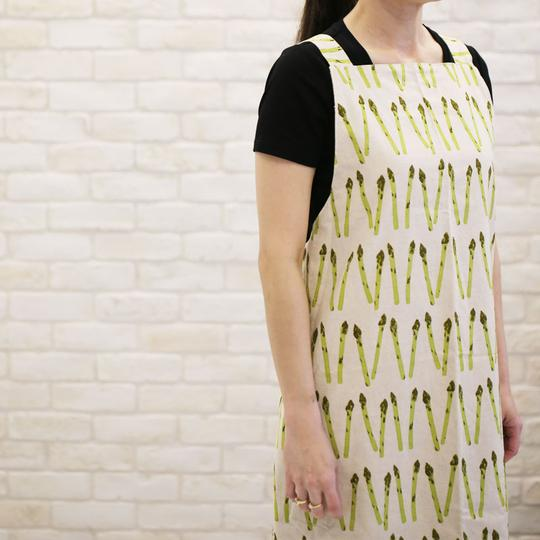 Cross-back Apron - Devant
