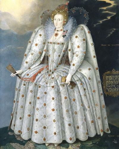 Robe de mariée de la Reine Elisabeth