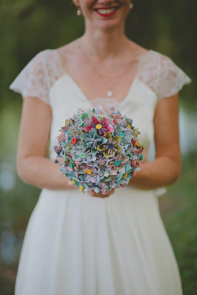 Robe de mariée réalisée par @lauriem_09