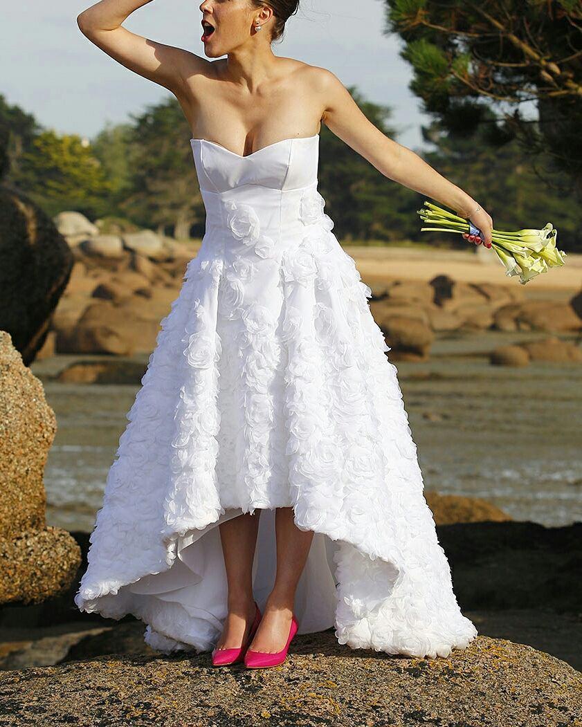 La robe de mariée cousue par @par.issy