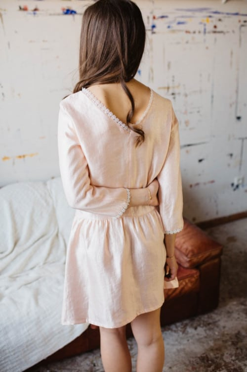 Idée tenue mariage : Robe Muse - patron Ma Petite Garde Robe