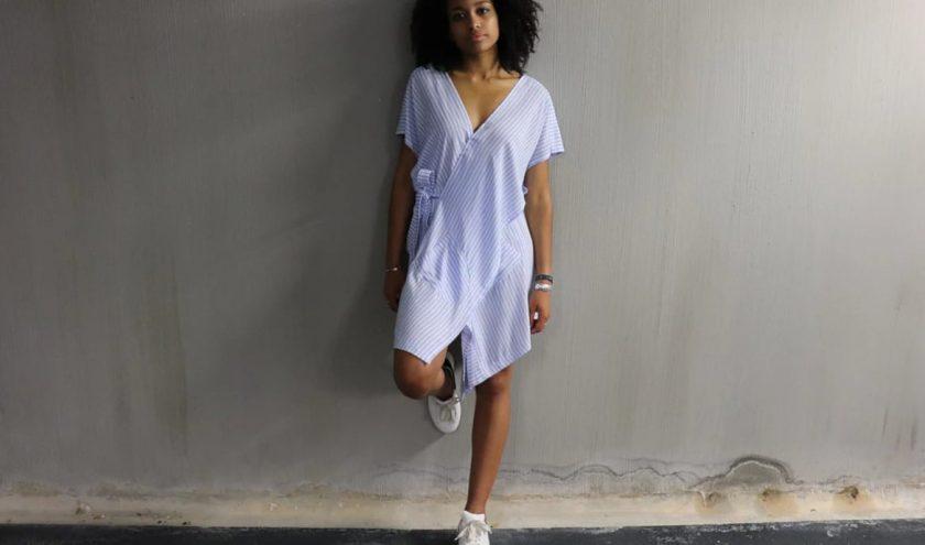 les patrons pour coudre une robe portefeuille - Louise Magazine