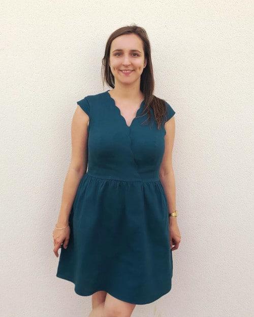 Robe personnalisable Charlotte Auzou @odetteetdespaillettes
