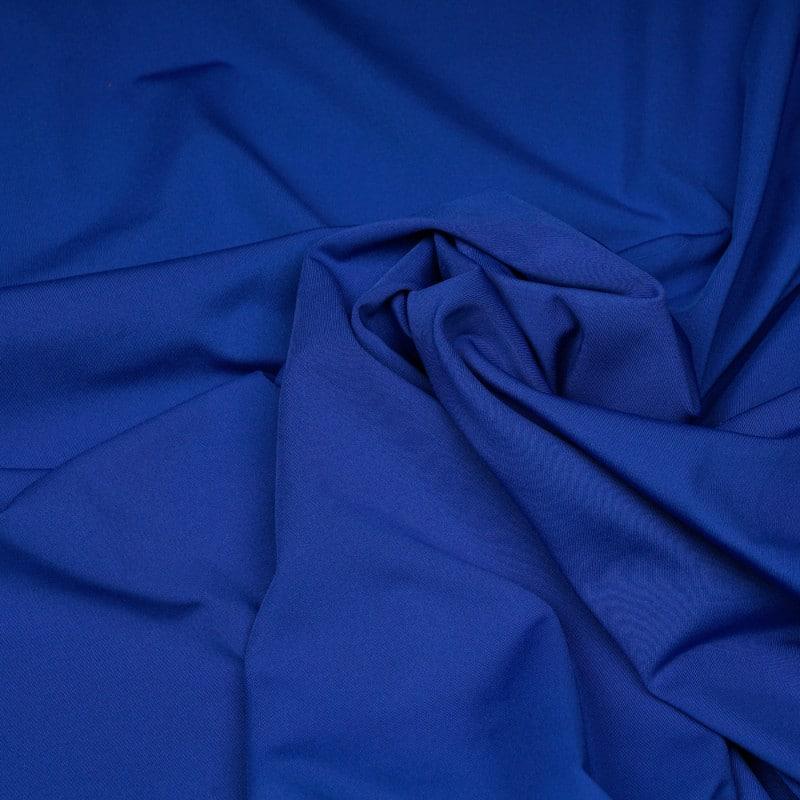 tissu maillot de bain bleu uni - Pretty Mercerie