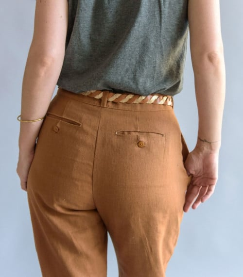 Dos du pantalon aime comme mince alors - patron Aime comme Marie