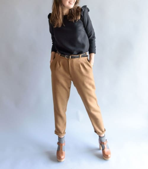 Pantalon à pinces aime comme mince alors - patron Aime comme Marie
