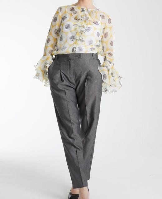 Pantalon à pinces Patrick - patron de Coralie Bijasson