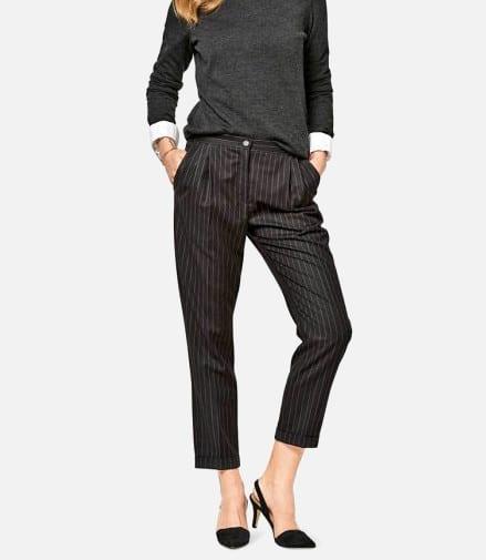 Patron pantalon à pinces Burda n°6472