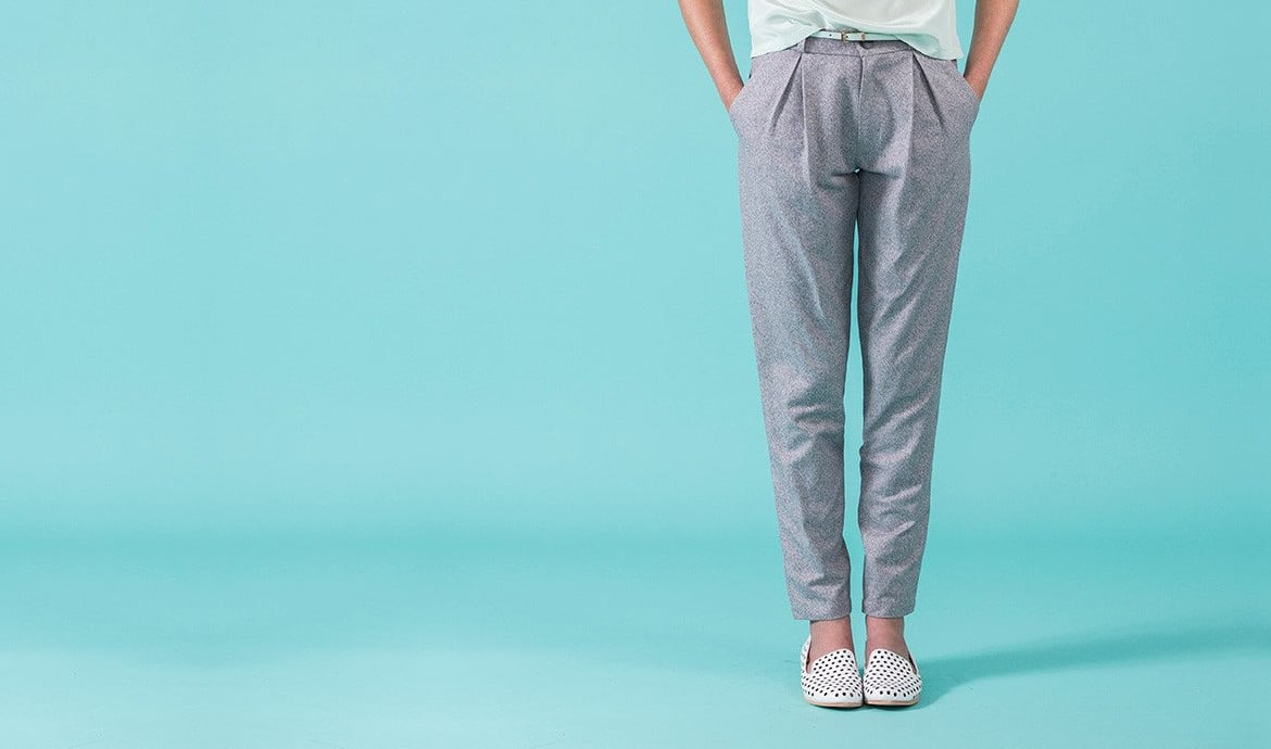Sélection de patron de pantalon à pinces - Louise Magazine