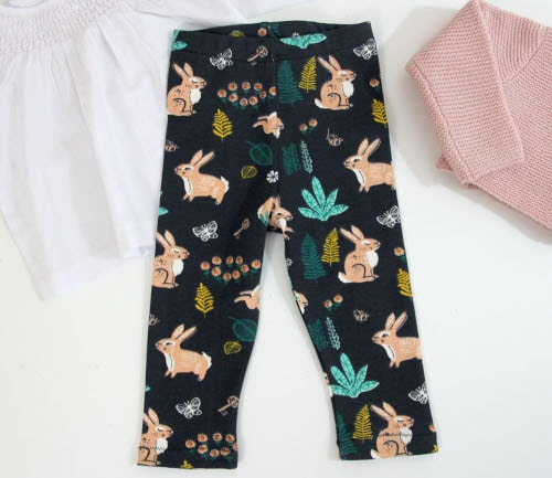 Tuto gratuit de legging bébé - Oh Mother Mine DIY