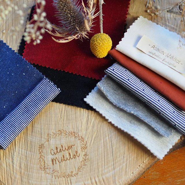 Échantillons de tissu - Atelier Mélilot